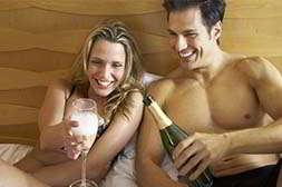 Эропростан можно совмещать с алкоголем